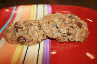 Amazing Oatmeal Coconut Chocolate Chip Cookies