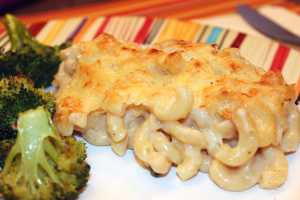 Plated Alpine-Inspired Mac and Cheese