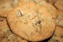 A Chocolate Toffee Cookie