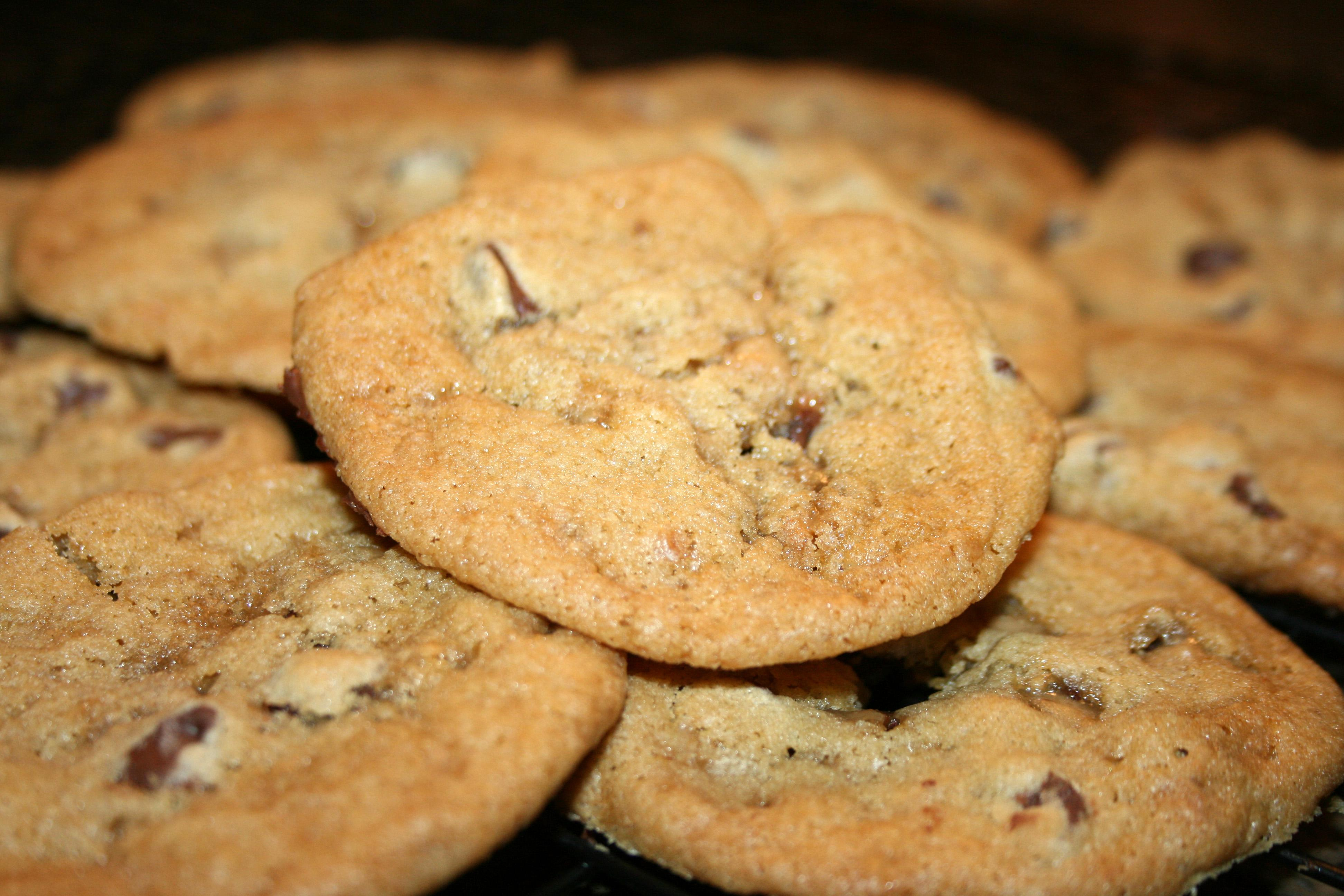 Chewy Chocolate Toffee Cookies | My Nana's Kitchen