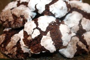 A zebra fudge cookie