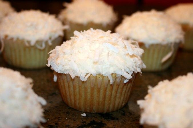 A Coconut Cupcake