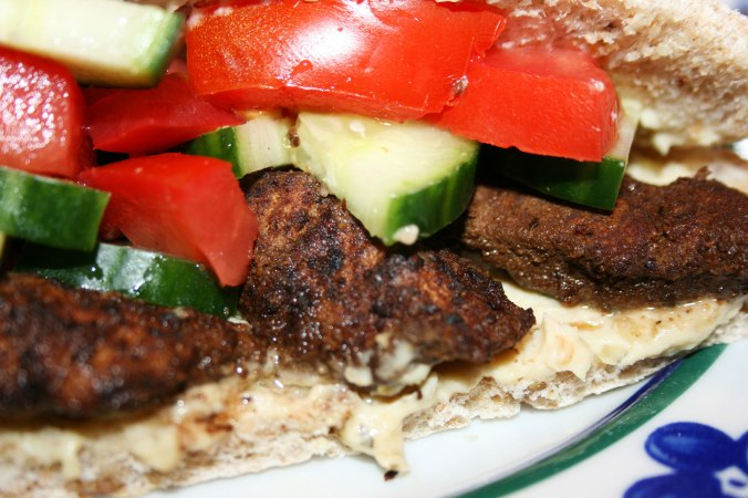 Baked Chicken Shawarma