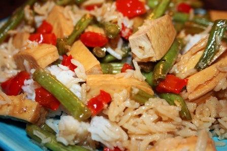 More Tofu Stir Fry
