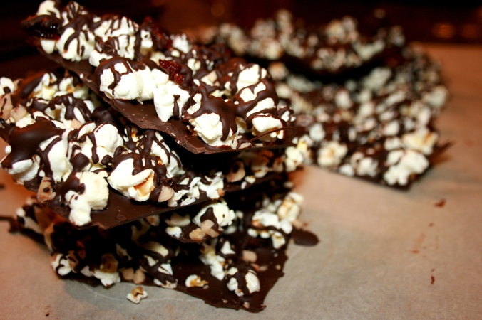 Sweet & Salty Popcorn Bark