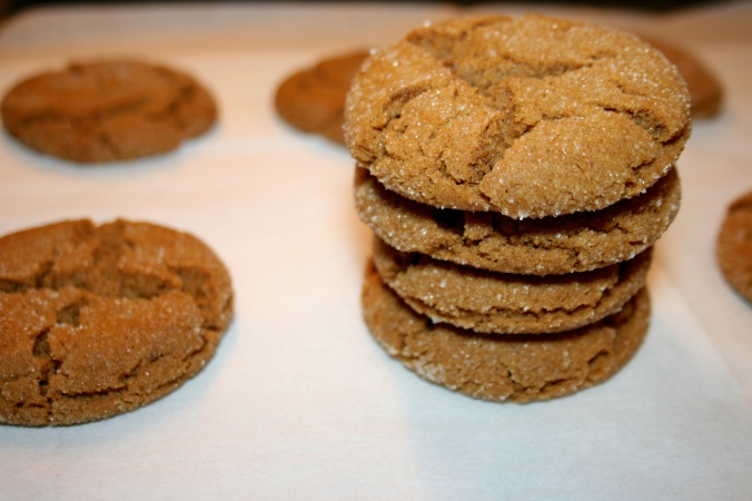 Soft Brown Butter Gingersnaps