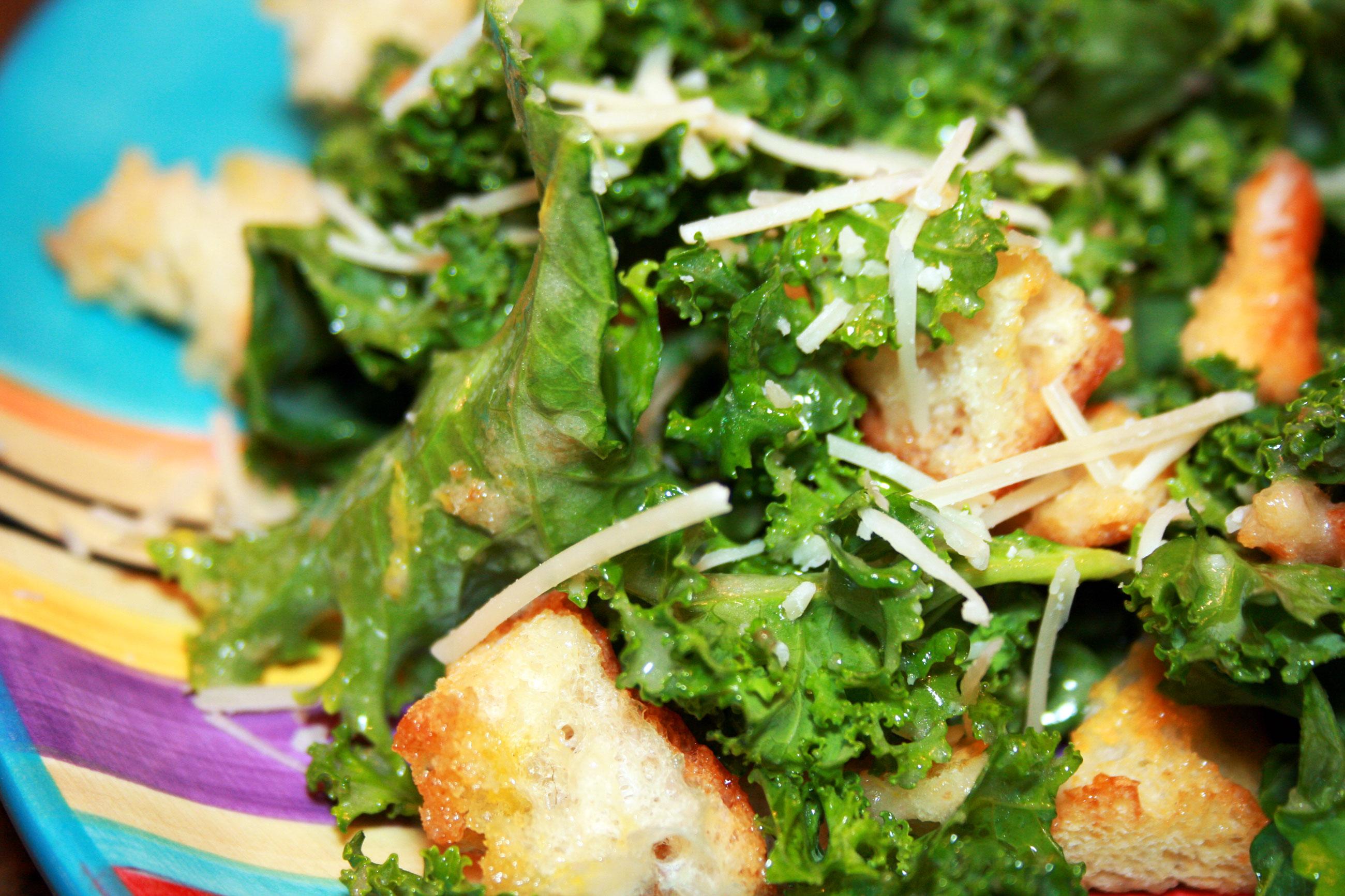 Kale Caesar Salad | My Nana's Kitchen