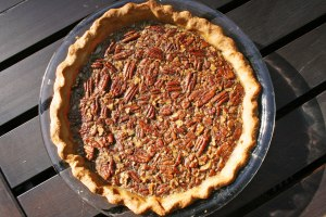 Maple Bourbon Pecan Pie